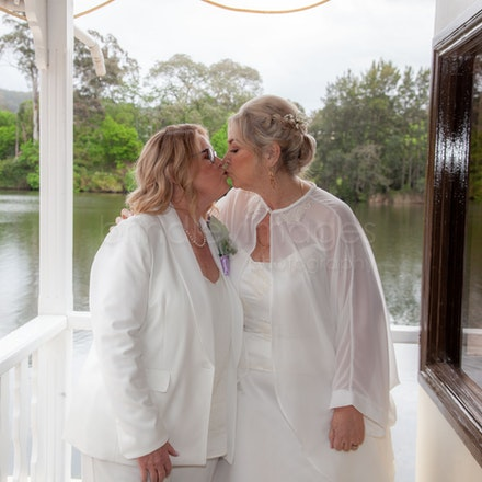 Debra and Judy Wedding Part 3 - On The Belle