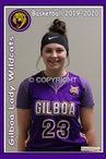2019-20 Gilboa Girls Varsity Basketball