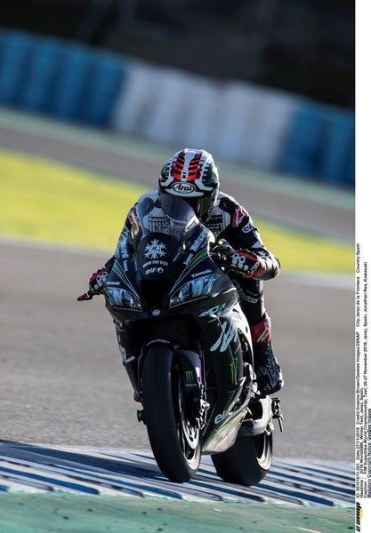 2018  Jonathan Rea goes for number 5 in 2019 aboard his Kawasaki
