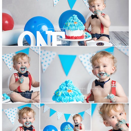Taj 1 year. | Cake Smash.