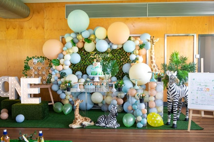 Zayne's 1st birthday party-220