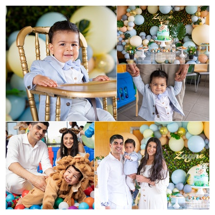 Zayne's 1st birthday party.2018
