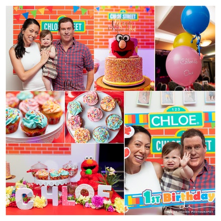 Chloe. 1st birthday.party