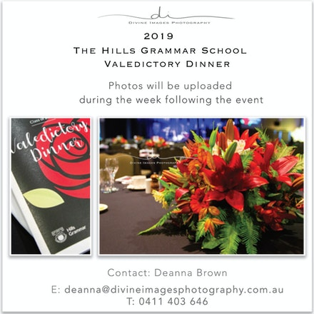 THGS 2019 Valedictory Dinner