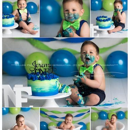 Jeremy cake smash