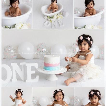Veda. Cake Smash