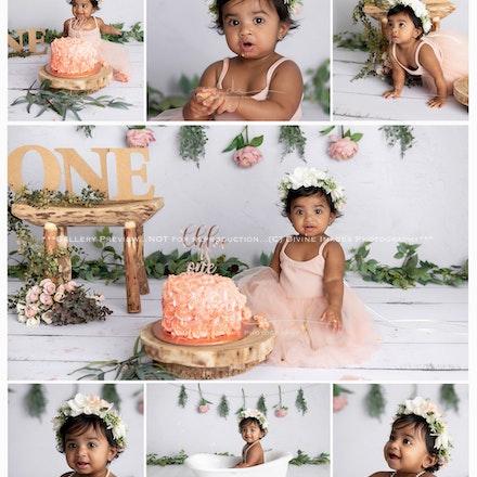 Chloe. Cake Smash.2020