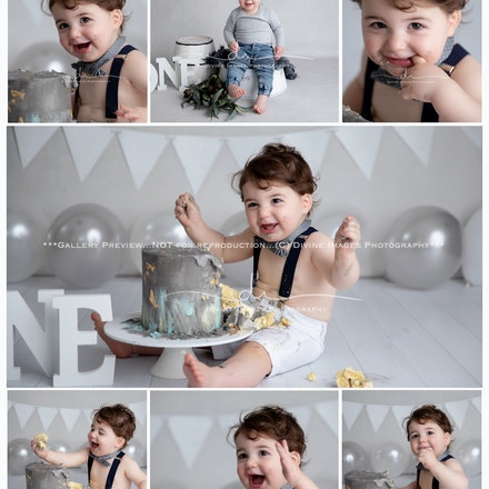 Maytham. Cake Smash