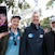 0S9A0133 - Daniher's Drive  in Portarlington Sam Fary, Neale Daniher and Geoff Fary  and Pic of Monica Fary on phone