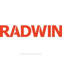 Radwin logo block