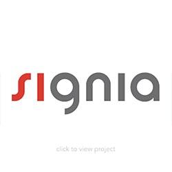Signia logo block