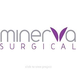 Minerva Surgical logo block