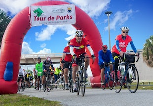 2019 Tour de Parks - 2019 Tour de Parks Legacy Trail bike ride, Venice Florida - Friends of the Legacy Trail