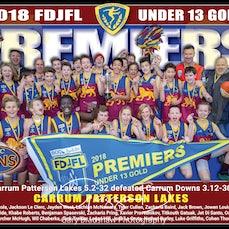 FDJFL Grand Final Premiership Prints