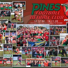 PInes FNC Premiership Prints 2018 - GazzaB Photography and Gameface present a stunning piece of photographic memorabilia, from the 2018 Pines FNC Premiership! 