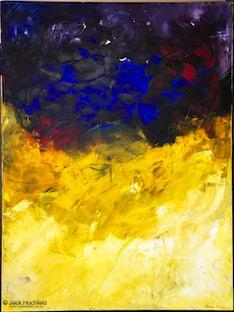 Oscar Shub and artwork - Pics of Oscar and his art for Three Parts Light