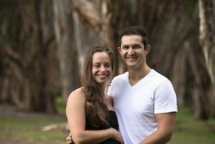 Joel and pregnant Romy