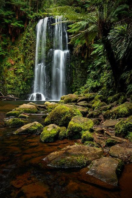 Beauchamp Falls - Otway National Park, VIC. 2015.
