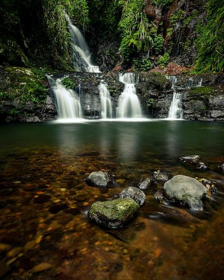Elabana Falls - Lamington N.P, QLD. 2018.