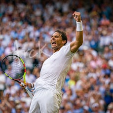 2019 Wimbledon Day 4 - Featuring Nadal, Federer, Barty, Millman, de Minaur, Konta, S. Williams, Kyrgios