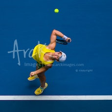 2019 Fed Cup Final (AUS vs FRA) Day 2 - Featuring Barty, Tomljanovic, Stosur, Sharma, Hon, Molik, Mladenovic, Garcia, Cornet, Ferro, Parmentier, Benneteau