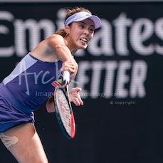 2020 Australian Open Day 7 - Featuring Federer, Wang, Kvitova, Sakkari, Barty, Riske, Jabeur