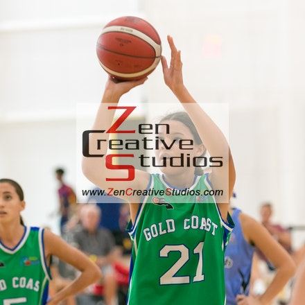 2020 BQSCs U18 Girls - 2020 Basketball Queensland Under 18 State Championships held at Gold Coast Basketball (Carrara) - Action Photo Galleries