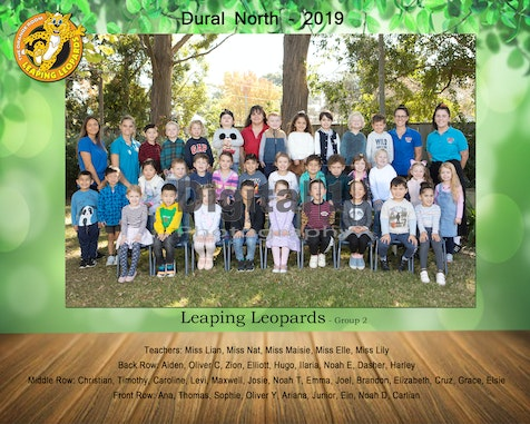 DURAL NORTH 2019 - Fit Kids School Photos