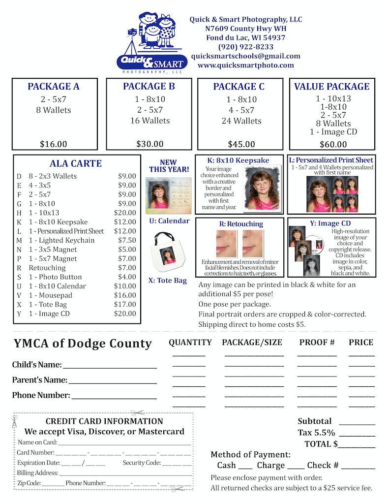 YMCA Dodge County 2018