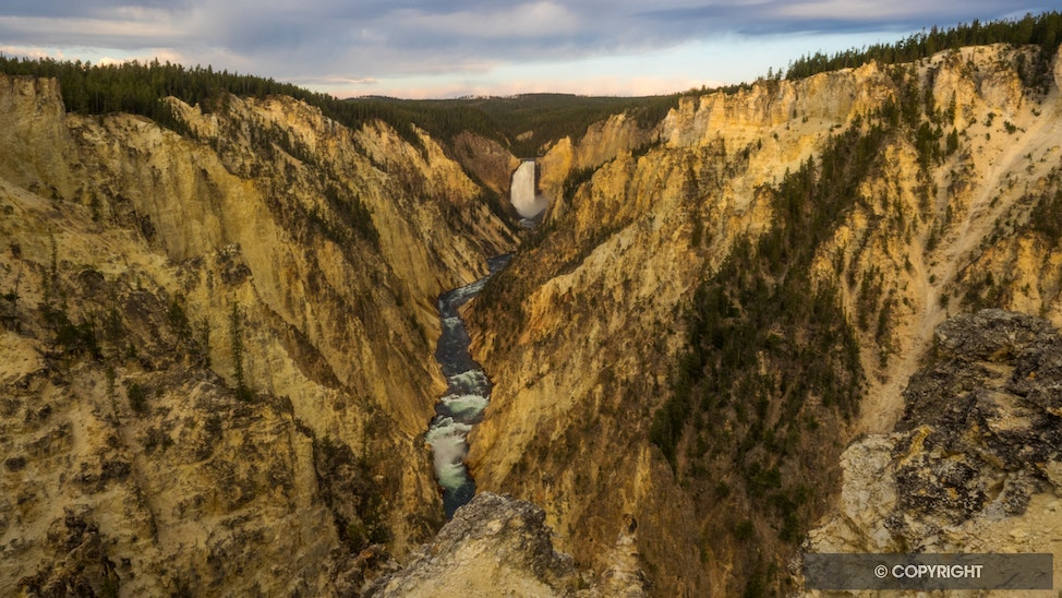 Grand Canyon of the Yellowstone - Made famous by Thomas Moran, these falls have inspired generations of people to care for nature
