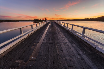 Wallaga Lake Bridge - Wallaga Lake