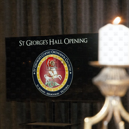 St. George's Hall Opening