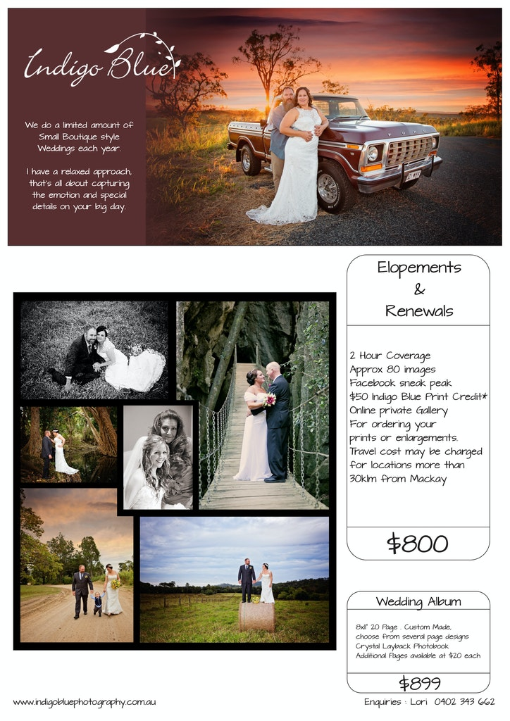 Indigo Blue Photography Weddings 2017 new