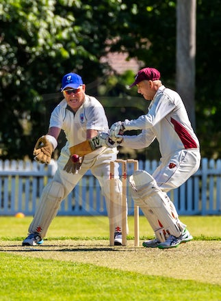 20181111_Day 1- Quensland 2 v NSW Wombats_Bensons Lane 3_0001 - All the action from Day 1 of the Australian Veterans Cricket Over 60s Championships. 
