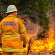 Hillside Hazard Reduction - Over 250 firefighters gathered at Hillside Rfs Station this morning to conduct a 150 hectare Hazard Reduction.  The burn...