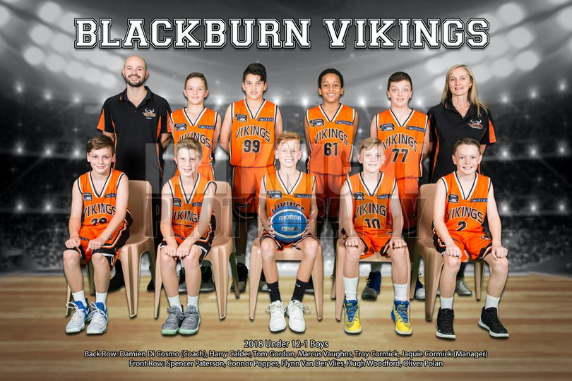 12-1 Boys Team Photo - PRINT