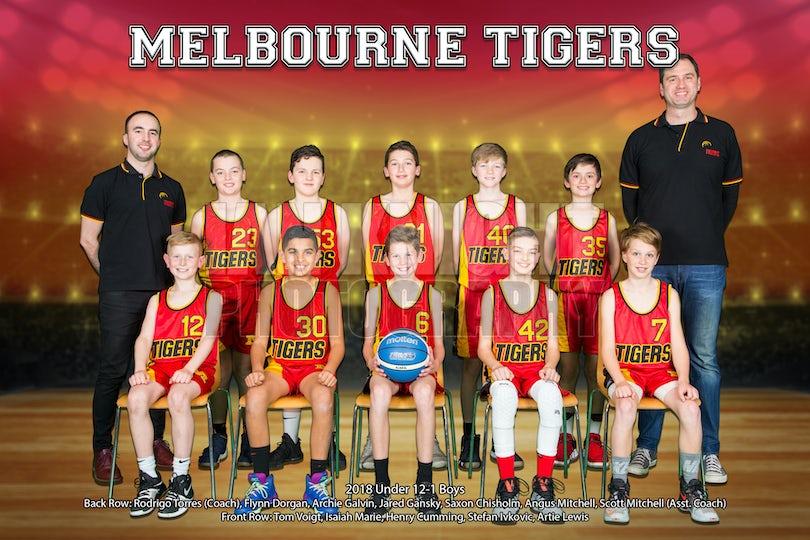 12-1 Boys Team