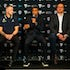 IK_270818-1423 - Boomers v USA Basketball Launch, Monday August 27 2018 at Etihad Stadium, Melbourne. Digital image by Ian Knight Photography.