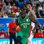 Australia vs Iran - FIBA World Cup Qualifier