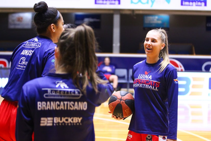 IK_110819_0001 - Geelong Supercats vs Bendigo Braves, Preliminary Final of the 2019 NBL1 Season at The Geelong Arena on Sunday August 11th 2019.Image...