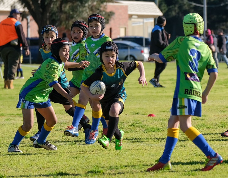 IKP_310819_1 - Eastern Raptors Rugby League Club at Gala Day. Greaves Reserve, Dandenong 31st August 2019