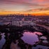 City Sunrise - Sunrise over Melbourne.  *Please note that the final product will be printed without watermark. Print price does not include shipping...