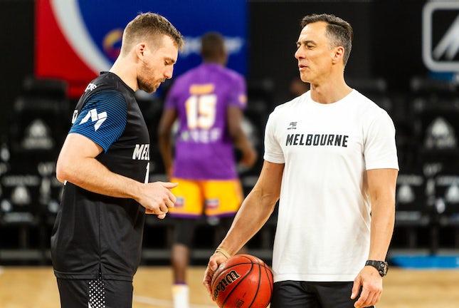 IK_041119_0001 - NBL1 2019-20 SeasonMelbourne United vs Sydney Kings at Melbourne Arena on Monday November 4th 2019.Image Copyright 2019 Ian Knight/Melbourne...