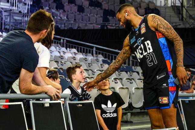 IK_241119_0001 - NBL1 2019-20 SeasonMelbourne United vs Brisbane Bullets at Melbourne Arena on Sunday November 24th 2019.Image Copyright 2019 Ian Knight/Melbourne...
