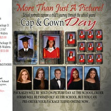DSA Cap & Gown Pre-Paid Packages - When Order Package You need