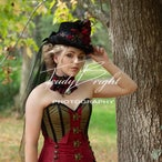 Corset Story Burgundy Steampunk