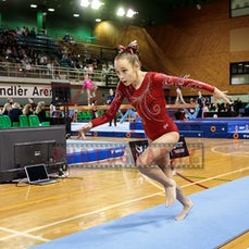 WAG Gymnasts Saturday 22/9/2018 - Photos from the 2018 Gymnastis Queensland Junior State Championships held 21/9/2018 to 25/9/2018 at the Sleeman Sports...