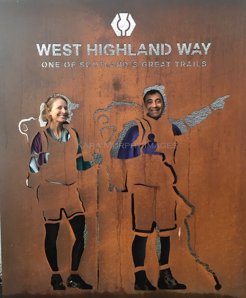 Starting the West Highland Way