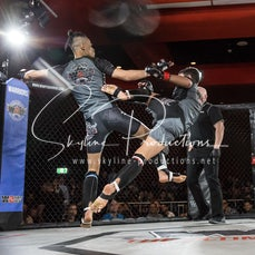 Ash Panday vs Tyrell Johnson W2W VT1/AKA - Photos taken from the Wimp 2 Warrior Finale VT1/AKA at The Norths in Cammeray at the 1st of September 2018