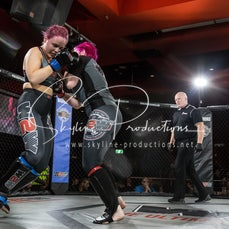 Alana Cashion vs Gillian Smyth W2W VT1/AKA - Photos taken from the Wimp 2 Warrior Finale VT1/AKA at The Norths in Cammeray at the 1st of September 2018